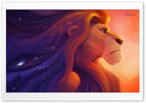 Lion King Painting