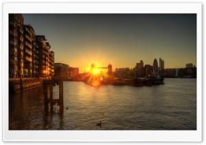 Tower Bridge Sunset HDR
