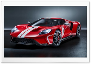 2018 Ford GT 1967 Heritage...