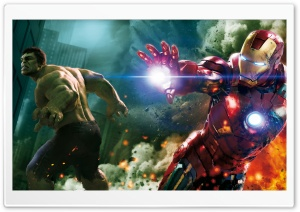 The Avengers - Hulk and Ironman