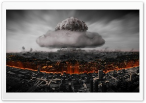 Atomic Explosion In The City...
