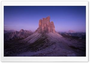 Dolomites Mountains, Night...