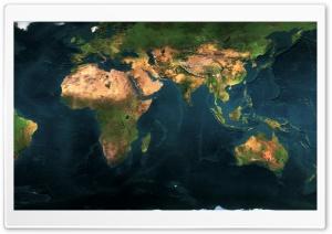 World Map Dual Monitor