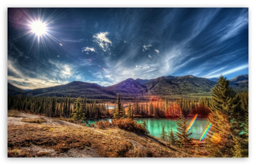 Download Banff National Park, Alberta, Canada UltraHD Wallpaper