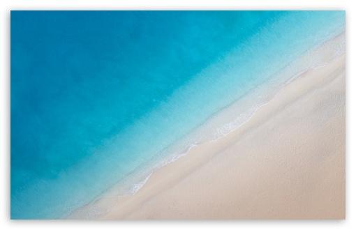 Download Beach Drone Photography UltraHD Wallpaper