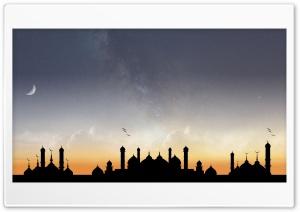 Unique Mosque Milky Way