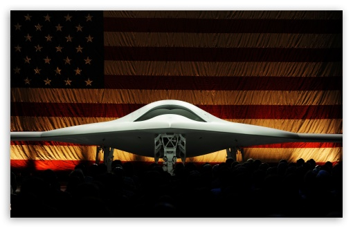 Download Boeing Phantom Ray UltraHD Wallpaper