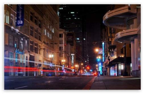 Download San Francisco Street UltraHD Wallpaper