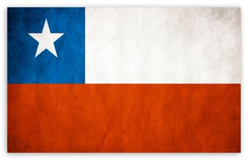 Download Flag Chile UltraHD Wallpaper