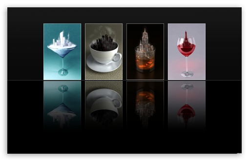 Download Drinks UltraHD Wallpaper