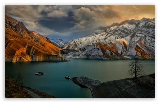 Download Amirkabir Dam UltraHD Wallpaper