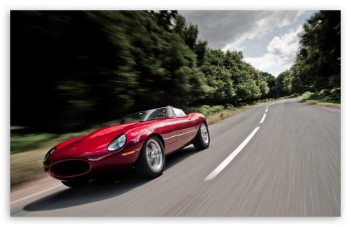 Download Eagle Jaguar E Type Speedster UltraHD Wallpaper