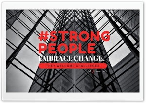 Strong People Quote