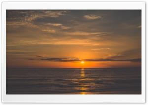 Orange Sunrise Beach