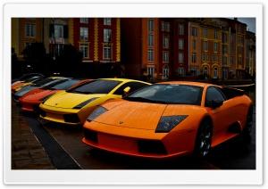 Lamborghini Murcielago and...