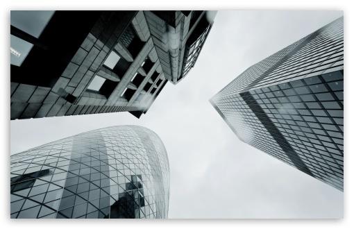 Download London Skyscrapers UltraHD Wallpaper