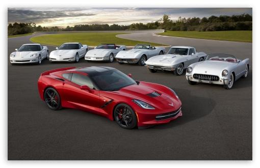 Download Corvette Cars UltraHD Wallpaper