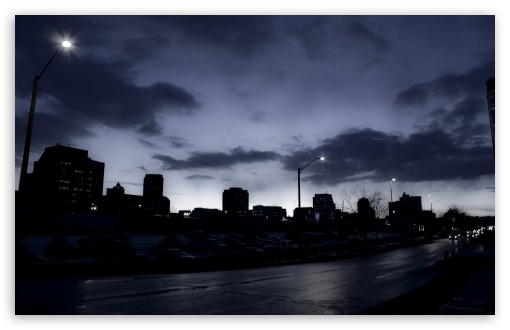 Download Downtown Calgary UltraHD Wallpaper