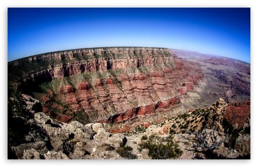 Download Grand Canyon HDR UltraHD Wallpaper