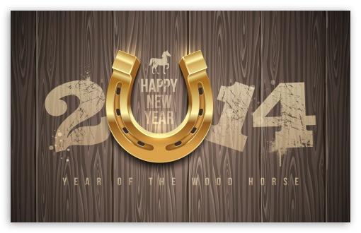 Download 2014 Lucky Year UltraHD Wallpaper