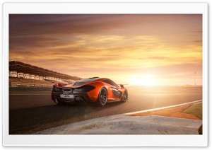 2014 McLaren P1 RaceTrack