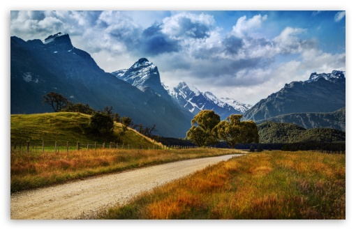 Download The Dirt Road to Paradise UltraHD Wallpaper