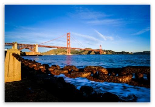 Download Golden Gate Bridge Fort Point UltraHD Wallpaper