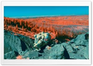 Astronaut Exploring Around...