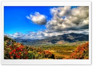 Autumn Mountain Landscape HDR