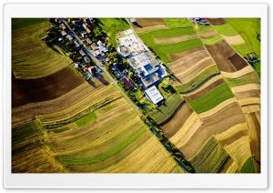 Mistelgau Aerial View