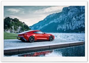 Red Aston Martin Sports Car