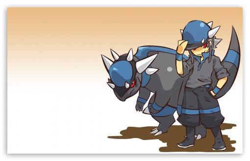 Download Rampardos Pokemon UltraHD Wallpaper