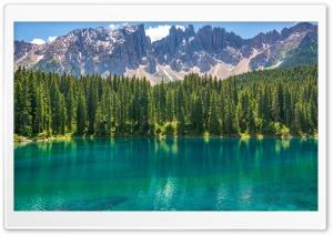 Karersee Lake, Dolomites...