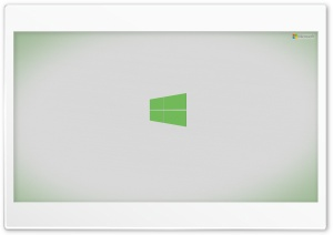 Microsoft Windows 8 Green