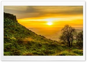 Yellow Sunset HDR