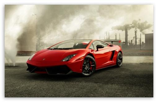 Download Red Lamborghini Gallardo UltraHD Wallpaper