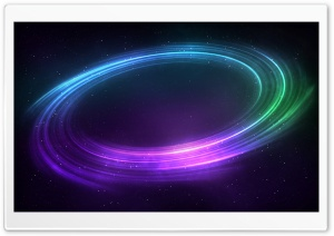 Colorful Space Vortex Background