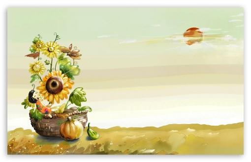 Download Autumn Scenes 7 UltraHD Wallpaper