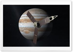 Satellite Orbiting Jupiter
