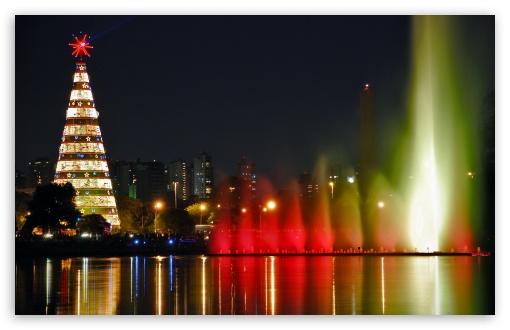Download Christmas City UltraHD Wallpaper