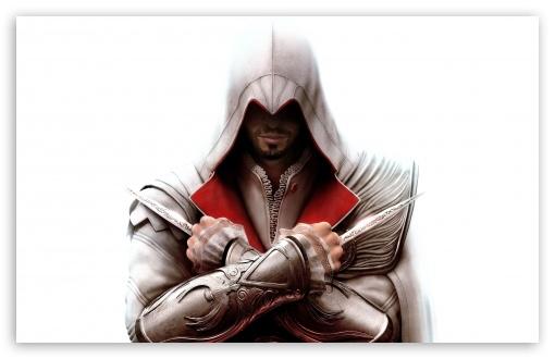 Download Assassin's Creed Ezio UltraHD Wallpaper