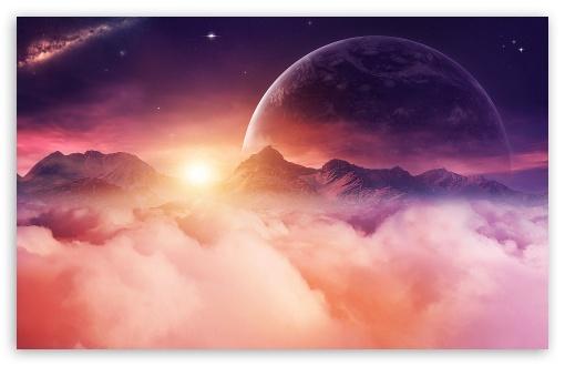 Download Planet Omega UltraHD Wallpaper