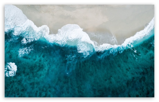 Download Beach Scene UltraHD Wallpaper