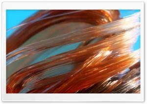 3D Brown Glass Macro