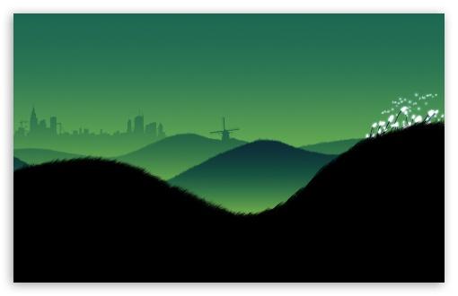 Download Hills UltraHD Wallpaper