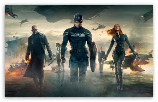 Download Captain America The Winter Soldier Movie UltraHD Wallpaper