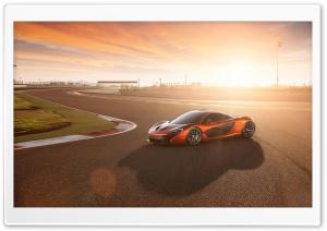 2014 McLaren P1 Race Track