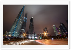 Shanghai Night Traffic