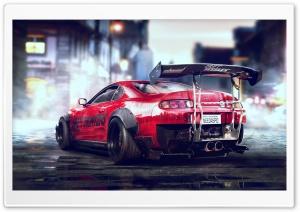 Toyota Supra Sports Car