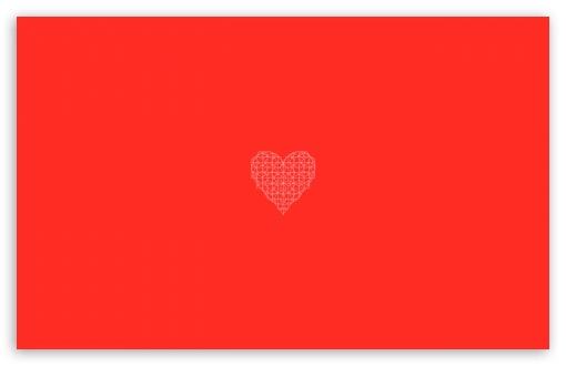 Download Heart Geometry UltraHD Wallpaper